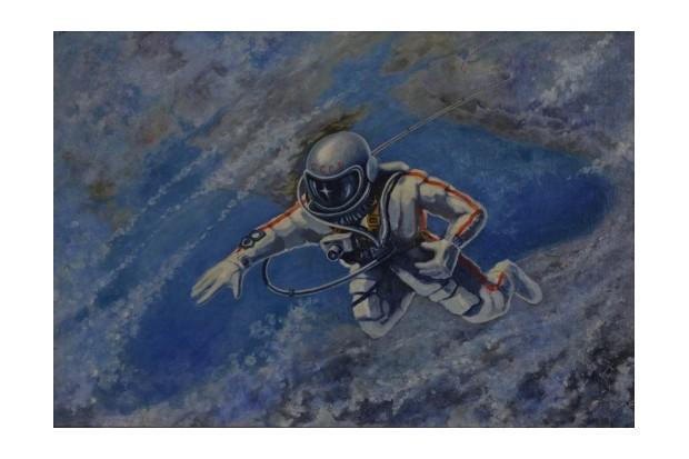 Alexei Leonov, 'Over the Black Sea', 1973