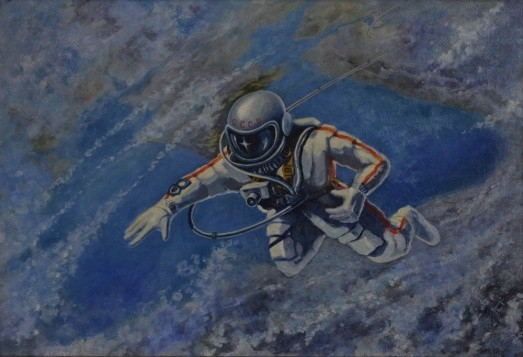 Alexei Leonov, 'Over the Black Sea', 1973