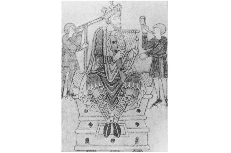 Alfred the Great (849–899). (Photo by Hulton Archive/Getty Images)
