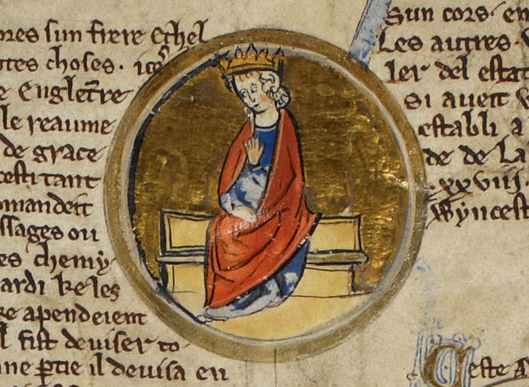 Painting of Alfred the Great