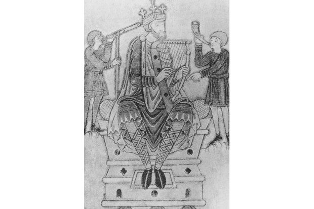 King Alfred the Great (848 - 899), King of Wessex, circa 890. (Photo by Hulton Archive/Getty Images)