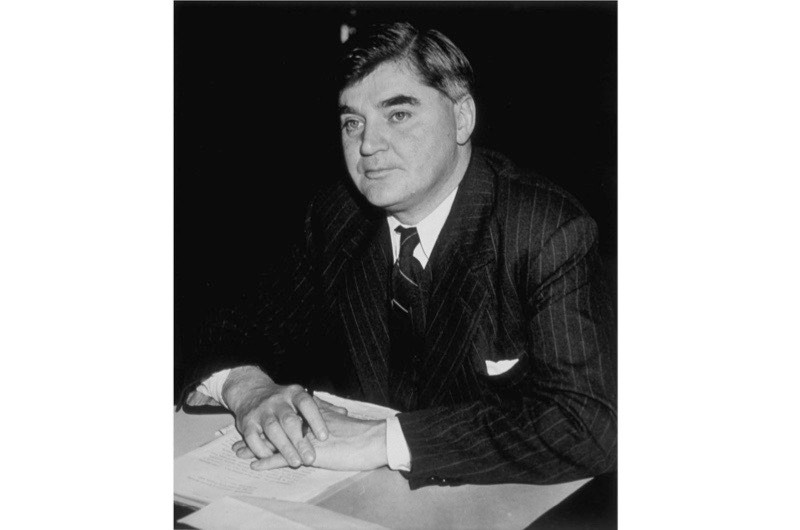 Labour politician Aneurin Bevan, the chief architect of the National Health Service, 20 August 1945. (Photo by John F Stephenson/Topical Press Agency/Getty Images)