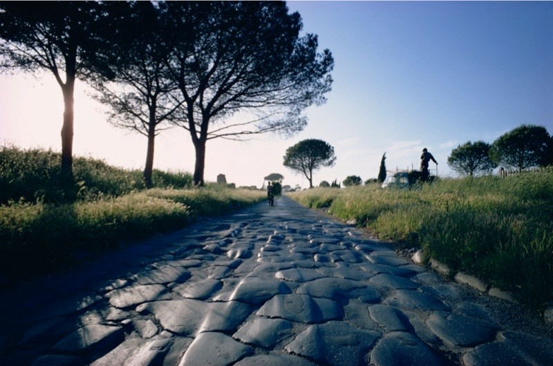 Appia Antica (The Appian Way), Rome, Lazio, Italy, Europe. (Getty)