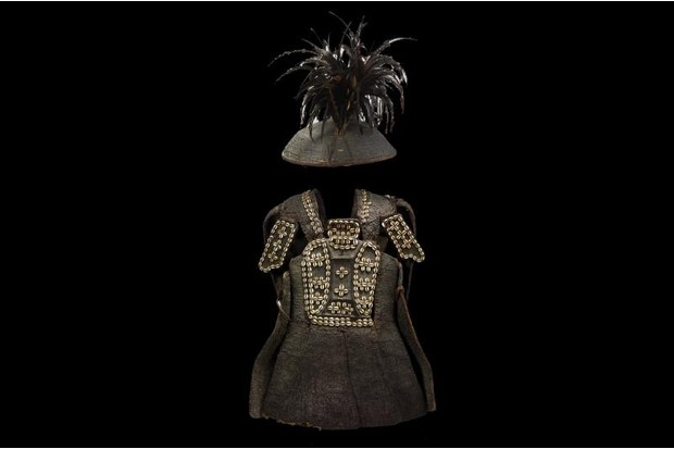 Armour and hat from the Philippines.