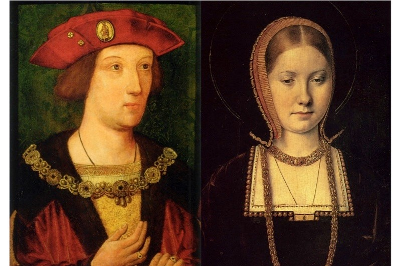 Prince Arthur and Catherine of Aragon