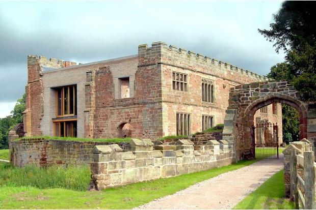 Astley-13ABAstley Castle near Nuneaton restored by Landmark Trust
