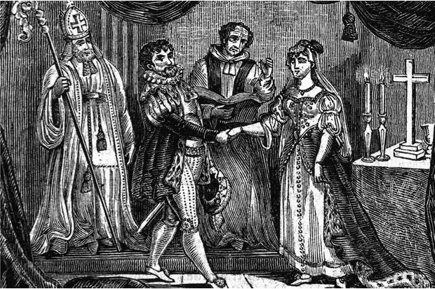 Love and marriage in Tudor England