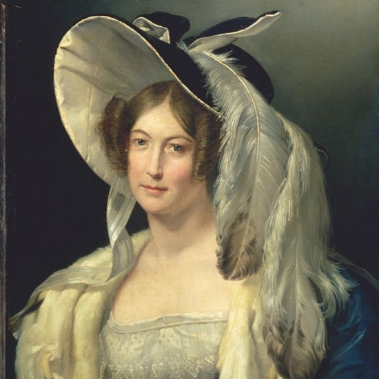 Victoria's mother, the Duchess of Kent, c1830–40. (Photo by Bridgeman Art Library)