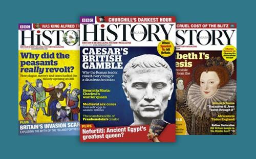 BBC History Magazine covers
