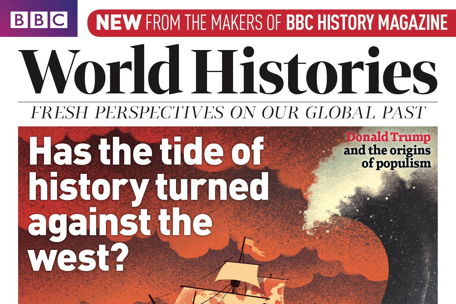 BBC World Histories Mag Issue 1 cover