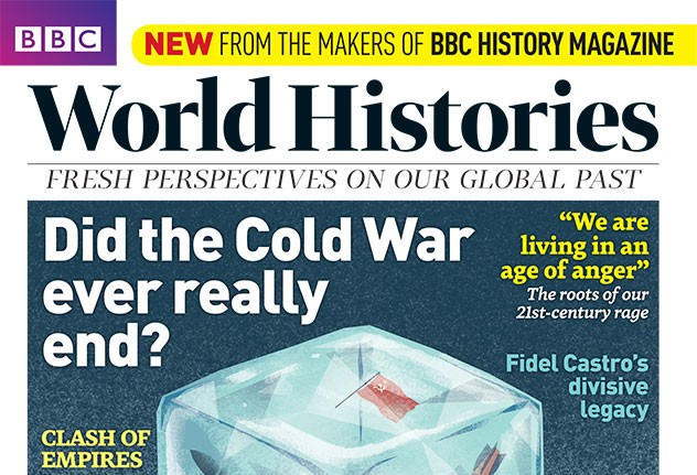 BBC World Histories Mag Issue 2 cover