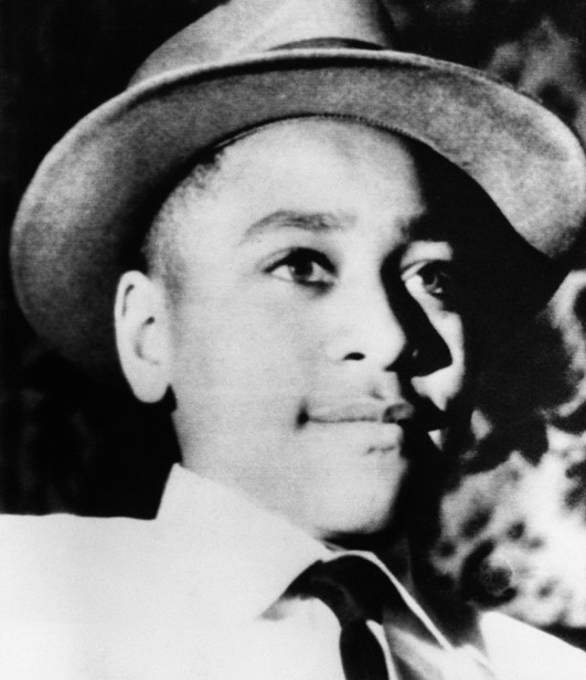 Emmett Till in Chicago, c 1955. (Corbis)