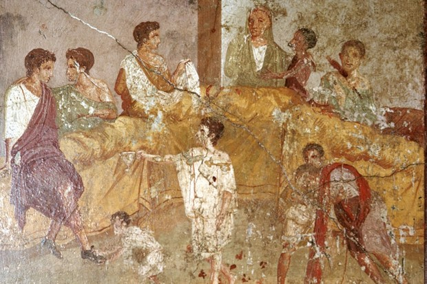 What did people eat in Ancient Rome?
