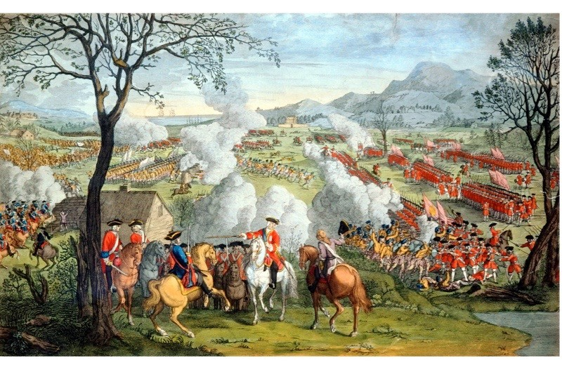 The battle of Culloden. (Ann Ronan Pictures/Print Collector/Getty Images)