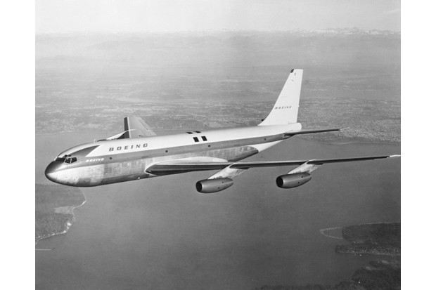 The Boeing 707 jet