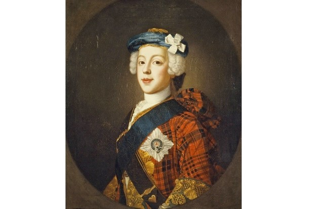 A portrait of Charles Edward Stuart, aka 'Bonnie Prince Charlie'. (Photo by National Galleries Of Scotland/Getty Images)