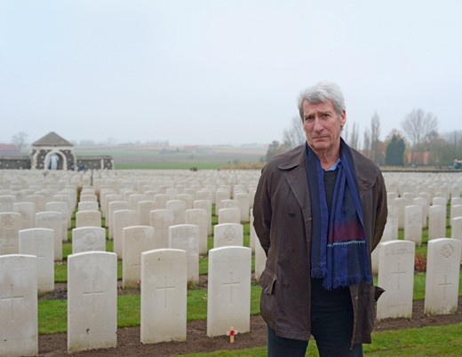 Programme Name: Britain's Great War - TX: n/a - Episode: n/a (No. n/a) - Embargoed for publication until: n/a - Picture Shows:  Jeremy Paxman - (C) BBC - Photographer: Dave Williams