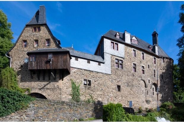 EH1GTF schloss burg castle, burg an der wupper, north rhine-westphalia, germany, europe