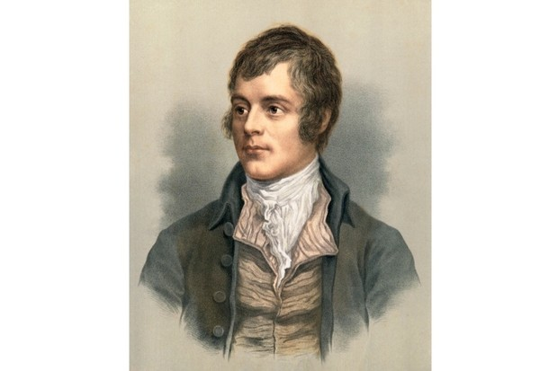 Robert Burns. (Getty Images)