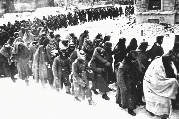 Images of German POWs in Stalingrad, 1943