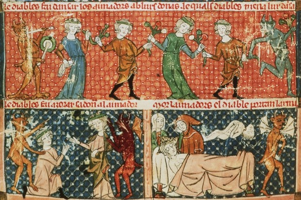 """""""People in the Middle Ages coped better with death than we do"""""""