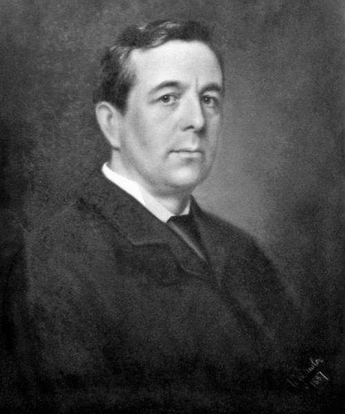 A portrait of Charles Digby Harrod