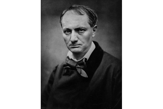 French poet Charles Pierre Baudelaire, 1821–67. (Photo by Etienne Carjat/Getty Images)