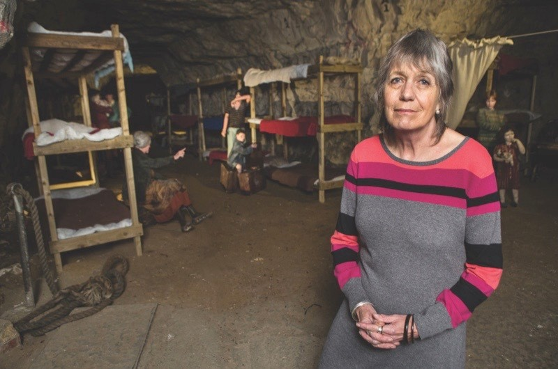 Portrait of Juliet Gardiner for BBC History Magazine