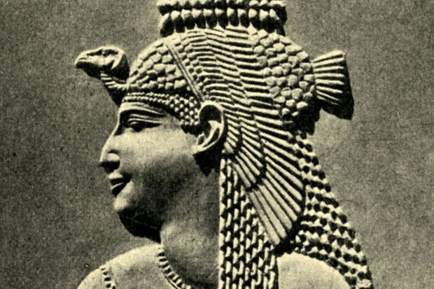Carving of Cleopatra