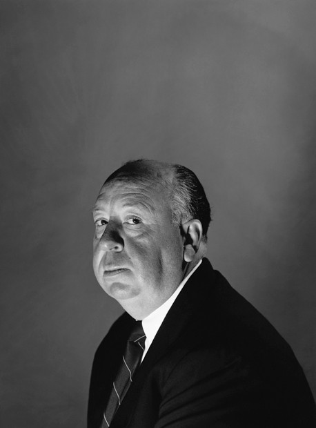 ca. 1965, Hollywood, Los Angeles, California, USA --- English film director Sir Alfred Hitchcock (1899-1980), made a number of suspense-laden films such as The Thirty-Nine Steps (1935), Dial M For Murder (1954), Notorious (1946), Rear Window (1955) and Psycho (1960). Ca. 1965. --- Image by © Hulton-Deutsch Collection/CORBIS