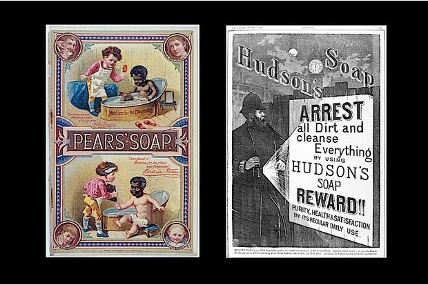 Advertisements from the early 20th century.