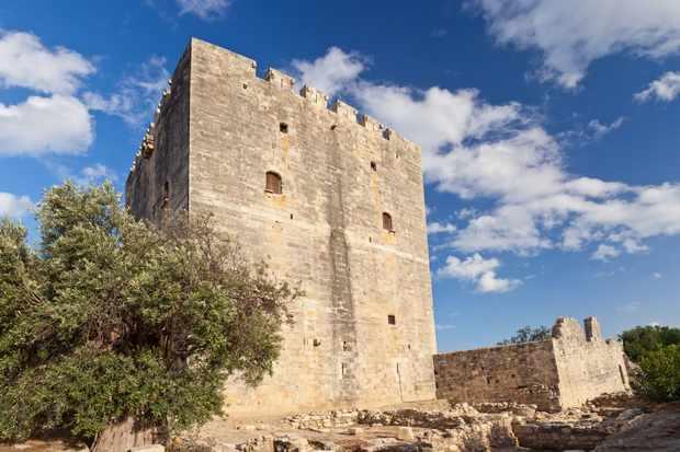 D6TR5R Cyprus, Europe - Kolossi castle near Limassol
