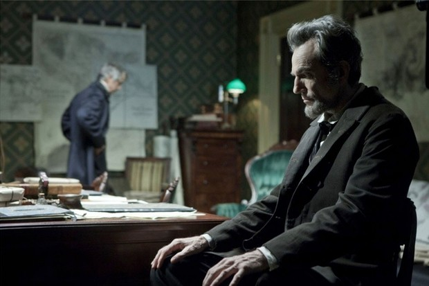 "Daniel Day-Lewis in Steven Spielberg's Lincoln (2012) – a ""sentimental, eminently weighty version of presidential history"", says Dr Wills. (Photo by Moviestore collection Ltd/Alamy Stock Photo)"
