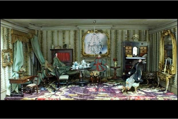 Doll house room
