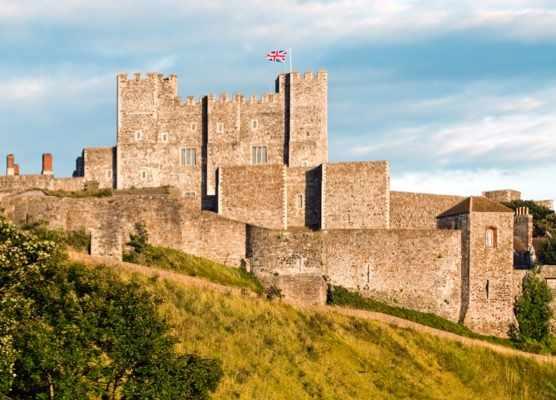 Dover Castle, Kent. (Photo by Olaf Protze/LightRocket via Getty Images)