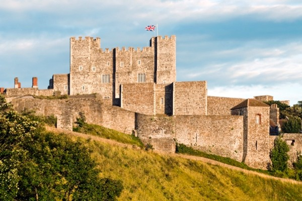 Dover Castle. (Photo by Olaf Protze/LightRocket via Getty Images)