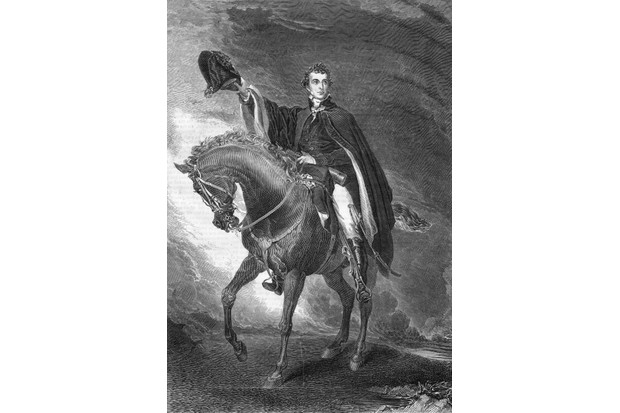 The Duke of Wellington on his charger, c1825. Original publication 'Illustrated London News'. (Photo by Illustrated London News/Getty Images)