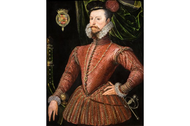 Robert Dudley, Earl of Leicester, by an unknown artist. (Photo by ACTIVE MUSEUM/Alamy Stock Photo)