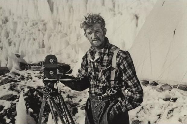 Photographer George Lowe