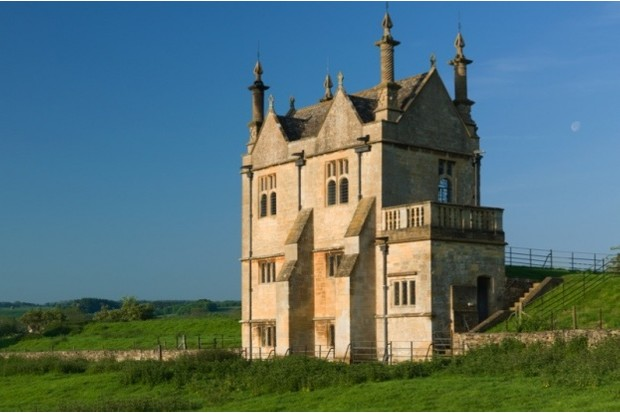The east banqueting house, Old Campden House, Gloucestershire. (Photo by The Landmark Trust)
