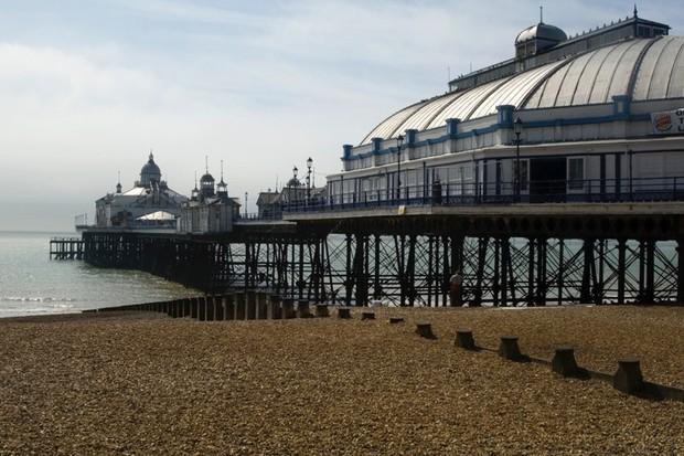 PROJECT.Seaside ADDRESS. Eastbourne Pier, Sussex CAPTION. View of pier