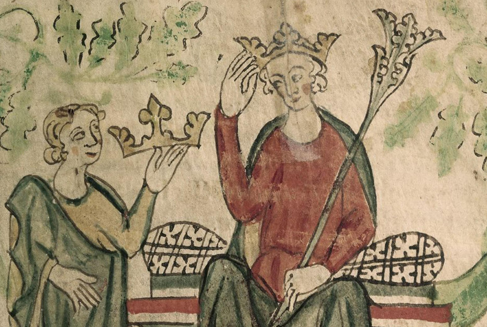 Painting of Edward II