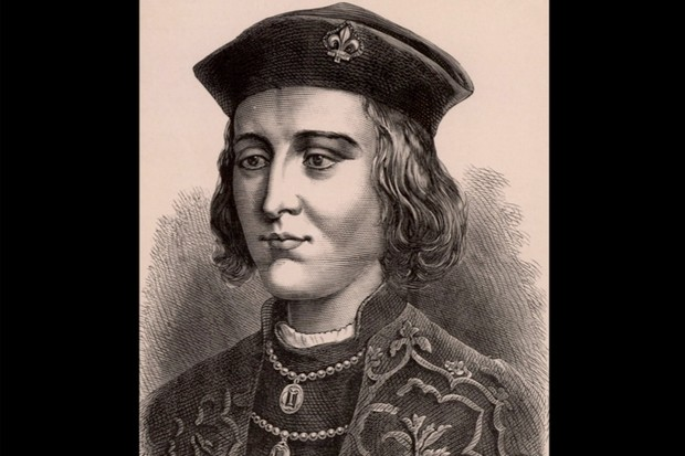 Portrait of Edward IV, the first Yorkist King of England.
