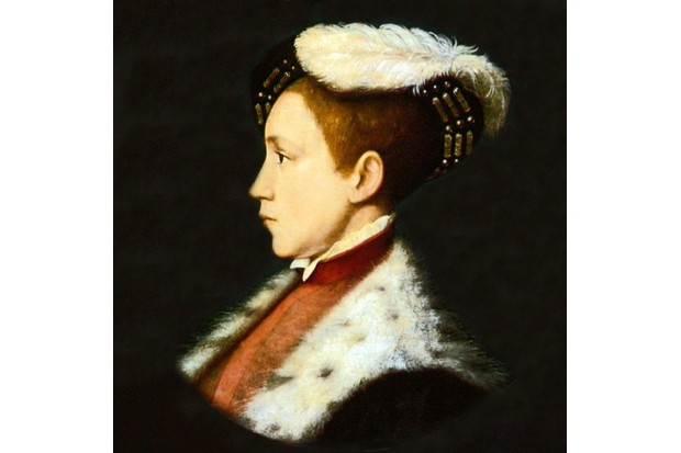 Edward VI (1537-1553) king of England and Ireland from 1547. Son of Henry VIII and his third wife, Jane Seymour.