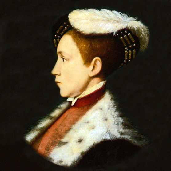 UNSPECIFIED - CIRCA 1754: Edward VI (1537-1553) king of England and Ireland from 1547. Son of Henry VIII and his third wife, Jane Seymour. Always a sickly child, he died of natural causes. Portrait by Holbein. (Photo by Universal History Archive/Getty Images)