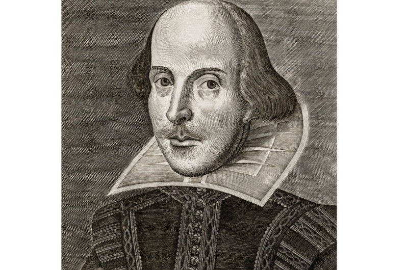 'Inkhorn' was the term for an inkwell made out of a small horn and became a nickname for the new words being created by playwrights and poets, such as William Shakespeare. (Photo by GraphicaArtis/Getty Images)