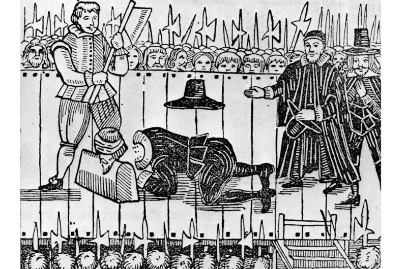 The execution of Charles I. (Photo by Universal History Archive/Getty Images)