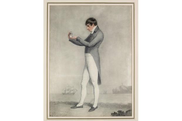 Adam Buck, Farewell,1801,37.5H x28.5Wcm