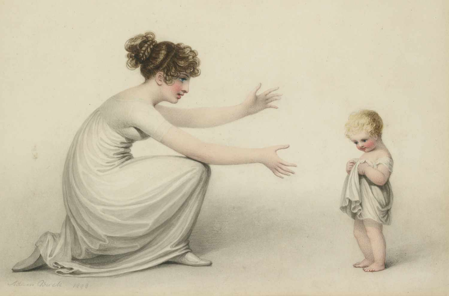 "Adam Buck,""First steps in Life"",1808"