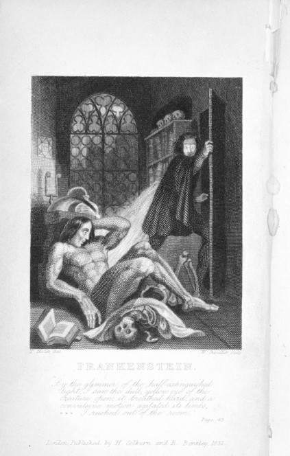 frankenstein as gothic literature Ruth richardson shows how mary shelley's frankenstein,  what are the key motifs of gothic literature and how do  from the origins of the gothic to.